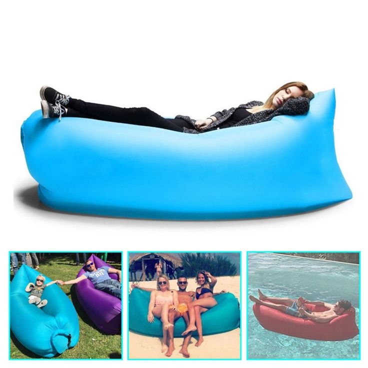 Fast Inflatable Camping Bed Beach Sofa Lounge Only Need Ten Seconds