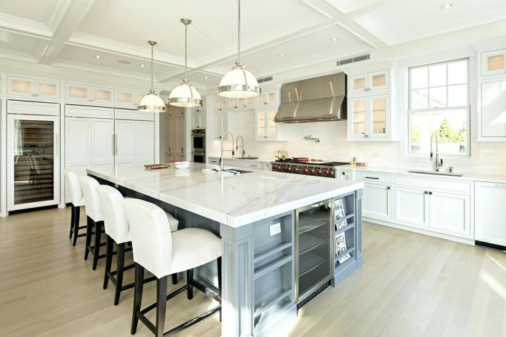 12 Foot Kitchen Island Stands In The Of His Square Home Has Three Seating Areas And A Wide With Comfortable Kitchen Kitchen Home