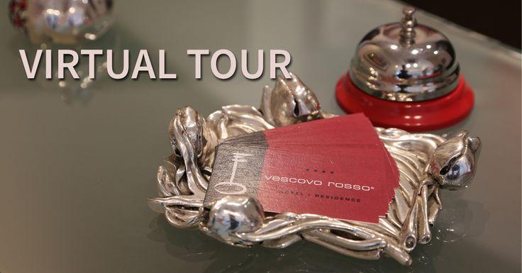 Il Virtual Tour dell'Hotel Residence Vescovo Rosso di Cosenza, la struttura moderna si trova vicino al centro storico e all'isola pedonale di Corso Mazzini.