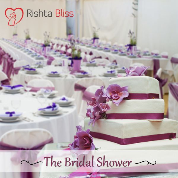Bridal Shower is gift-giving party where relatives and close friends of the bride gather together for a party in her honour, and traditionally bring gifts to prepare her for married life ‪#‎RishtoKiKahani‬