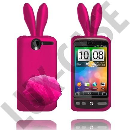 HTC Desire G7 kirkkaan pinkit pupu suojakuoret!