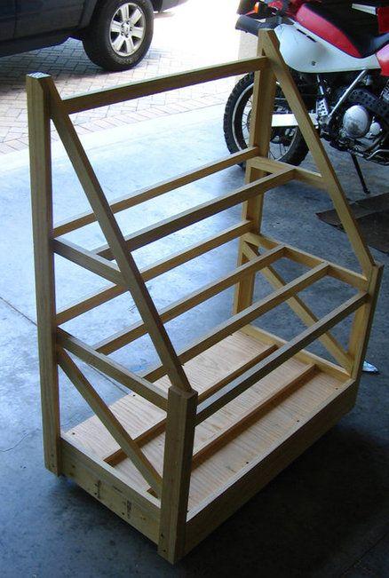 Portable Wood Storage Rack - by bvdon @ LumberJocks.com ...