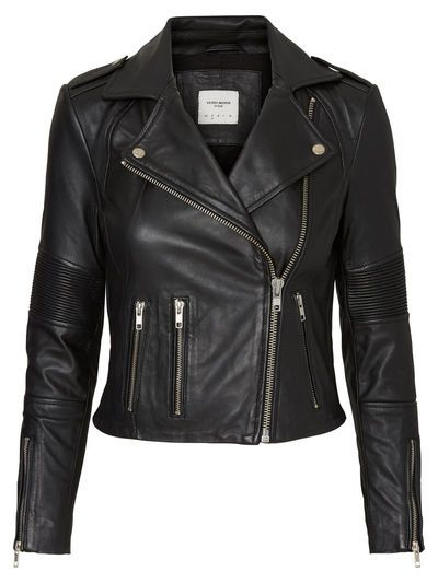 The biker is back again. Try this from VERO MODA with a pair of jeans.