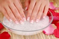 Olive Oil Nail Soak and a Nail Strengthening Soak. Easy to make using a few simple things from your kitchen.
