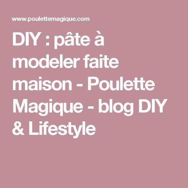 DIY : pâte à modeler faite maison - Poulette Magique - blog DIY & Lifestyle