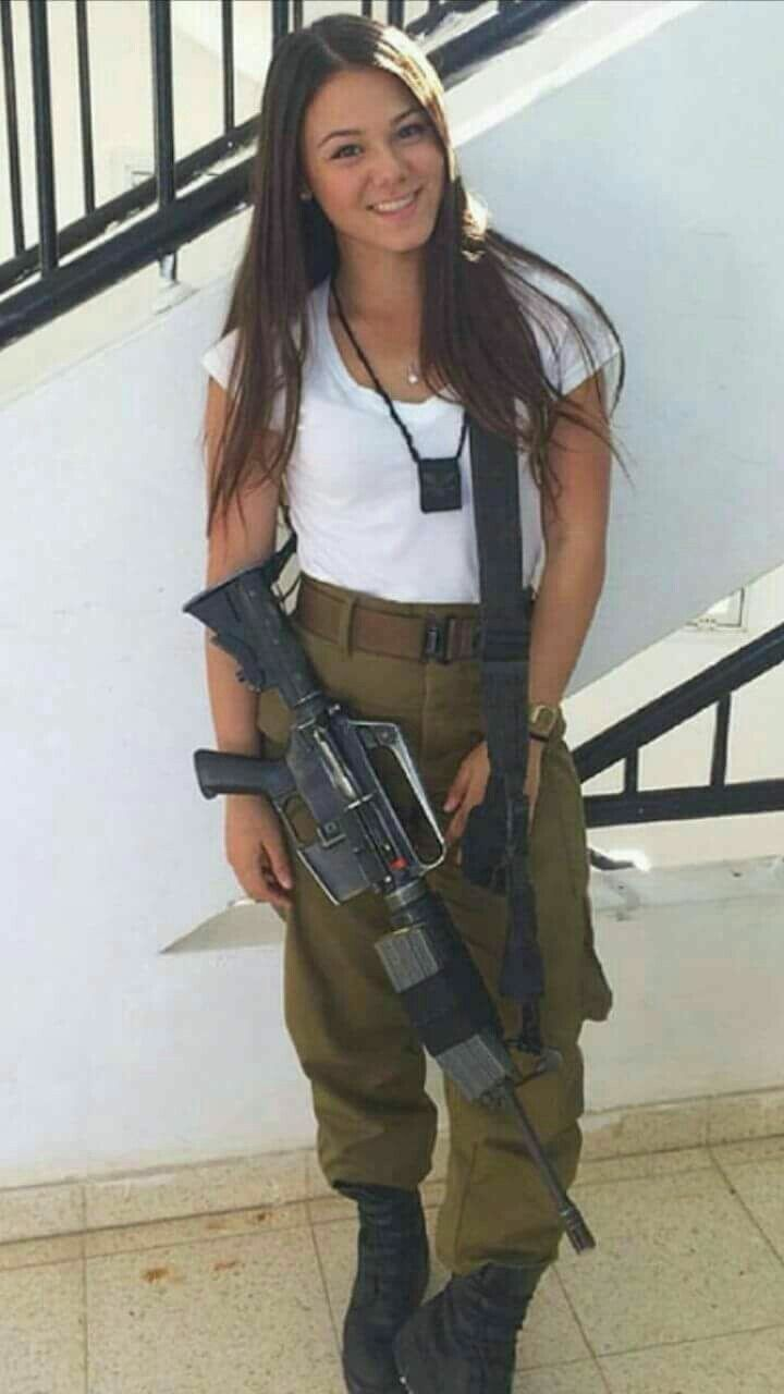 Just Stuff I Like Both Hot Guns And Girls Army Girl Military