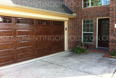 20 best garage door wood faux images on pinterest for Faux paint wood grain garage door
