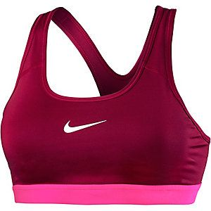 <title>Nike Pro Classic Sport-BH Damen bordeaux/pink im Online Shop von SportScheck kaufen</title>