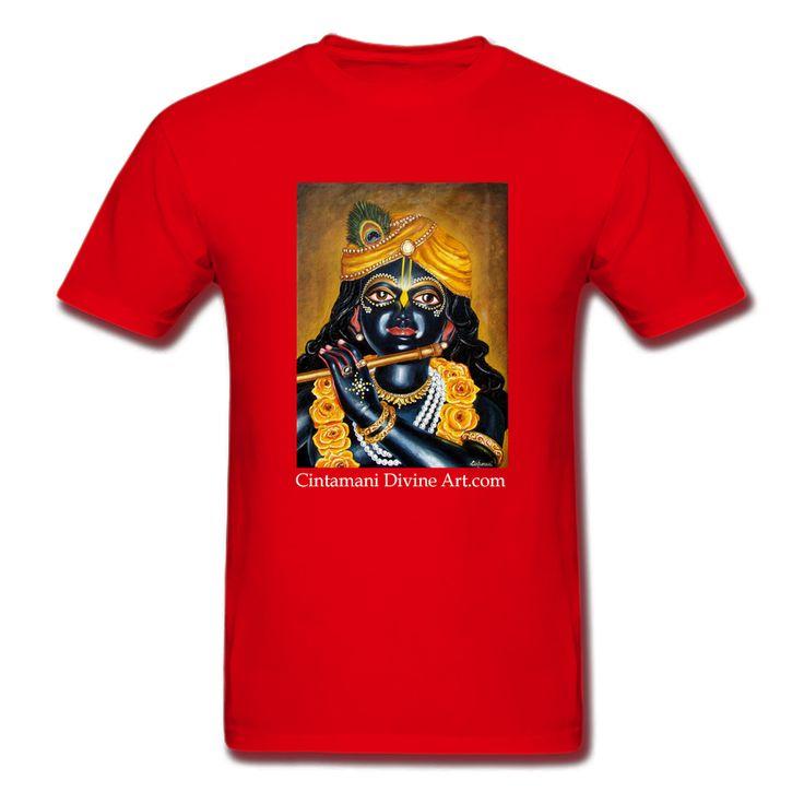 Yellow Rose Śyām T-Shirt - Cintamani Divine Art- https://cintamanidivineart.com/product/yellow-rose-syam-t-shirt/