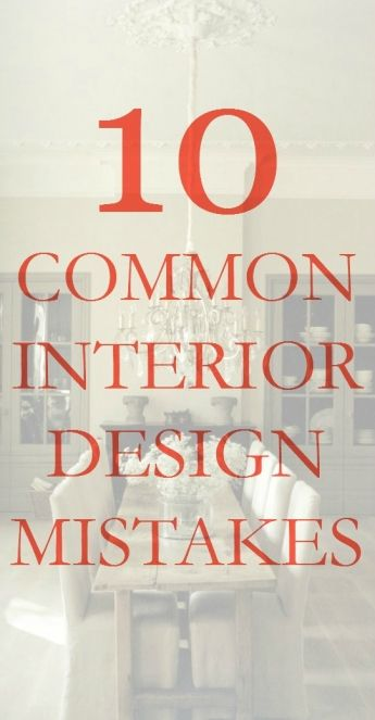 10 Common Interior Design Mistakes | Westchester County NY Home Decor