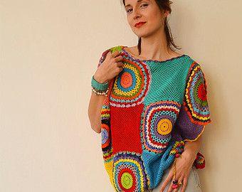 Plus Size Kleidung Damen Pullover Weste - häkeln, leichte seidige Garn - Massanfertigung