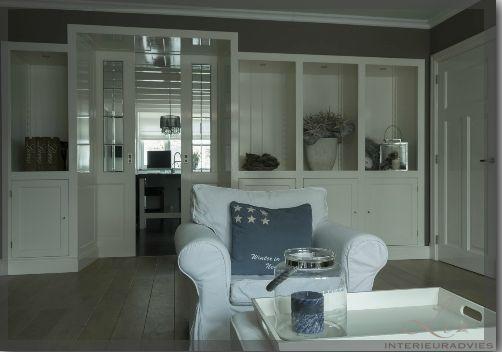 Kamer en suite tussen woonkamer en keuken de entree van - Keuken en woonkamer in dezelfde kamer ...