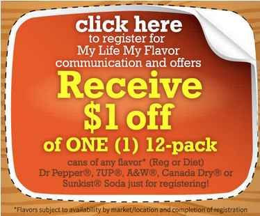 Dr. Pepper Coupons | Just $2 Per 12 Pack at Walgreens!