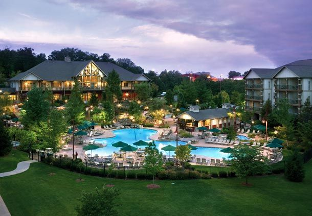 Marriott's Willow Ridge Lodge in Branson Mo. - 100's of shows, The Titanic Museum, Table Rock State Park and five swimming pools at this resort!