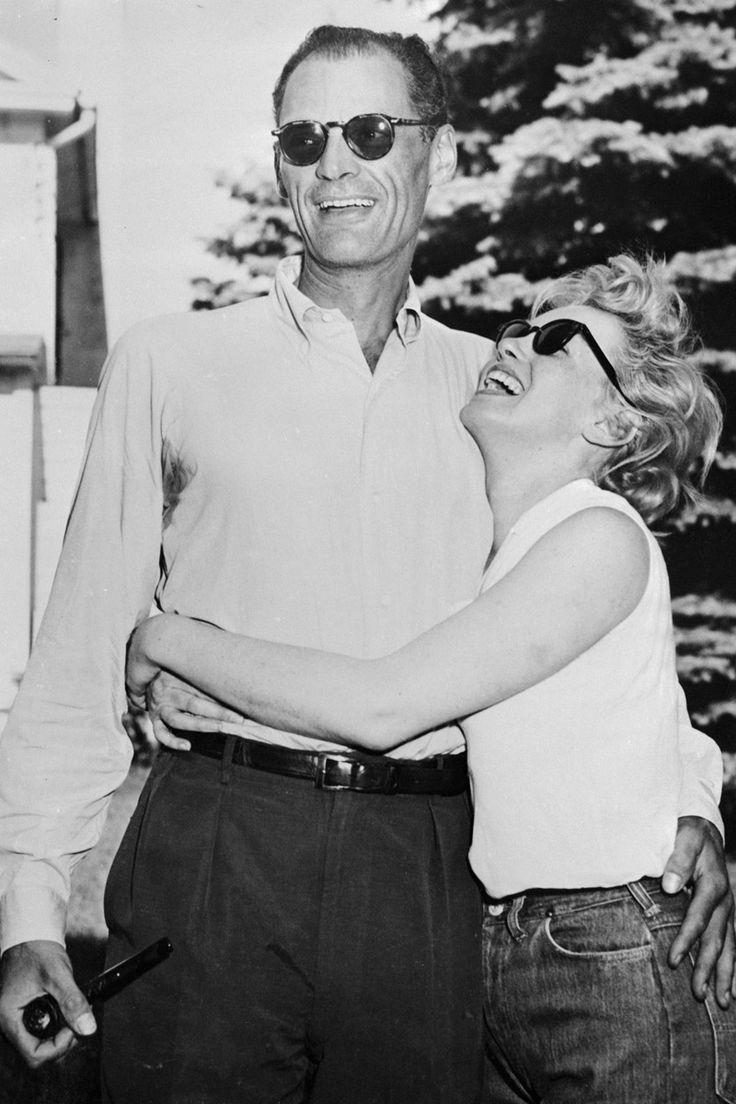 Parejas iconicas de la historia para celebrar San Valentin: Marilyn Monroe y Arthur Miller