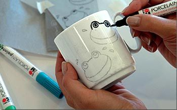 Pintar tazas