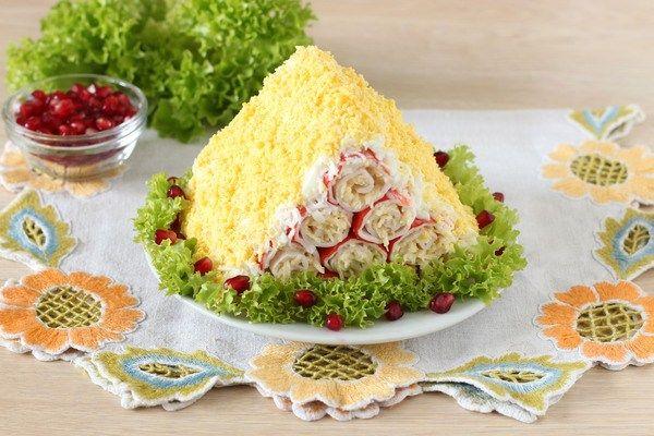 салат монастырская изба рецепт с фото основе