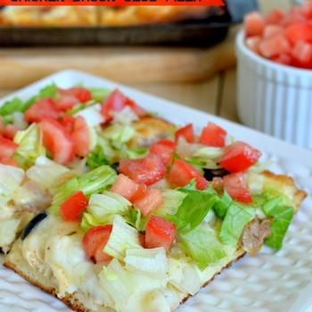 Southwest Ranch Chicken Bacon Club Pizza Recipe