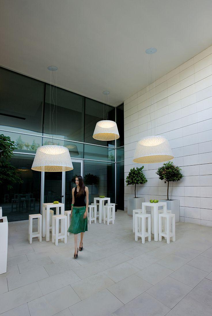 Wind outdoor light designed by Jordi Vilardell. http://www.vibia.com/en/lamps/show/id/405010/outdoor_lamps_wind_4050_design_by_jordi_vilardell.html?utm_source=pinterest&utm_medium=organic&utm_campaign=wind