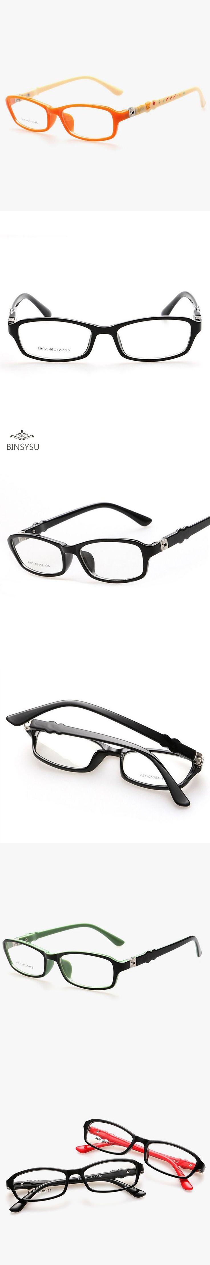 Fashion New Children Prescription lens Eyeglasses Frame Kids Flat Lenses Spectacles Spring hinge Oculos Myopia frames 8807