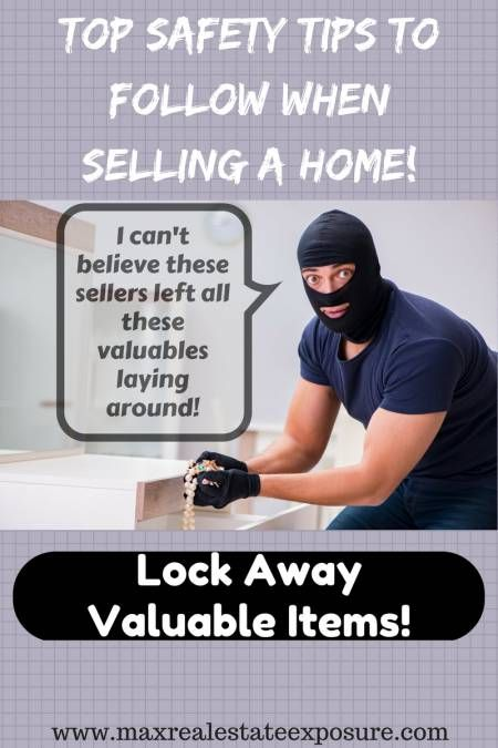 What are the most important safety tips when selling your home? Find out how to keep your home safe from criminals when it is up for sale. http://www.maxrealestateexposure.com/safety-tips-selling-home/