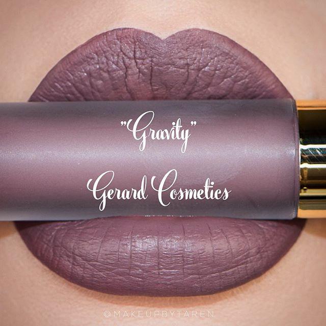 Gerard Cosmetics Matte Lipstick :: GRAVITY