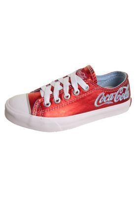Coca Cola red leather tennies.  How awesome are these!
