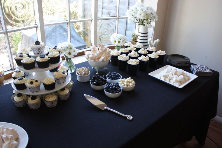 Black White Themed Party Black And White Party Decorations