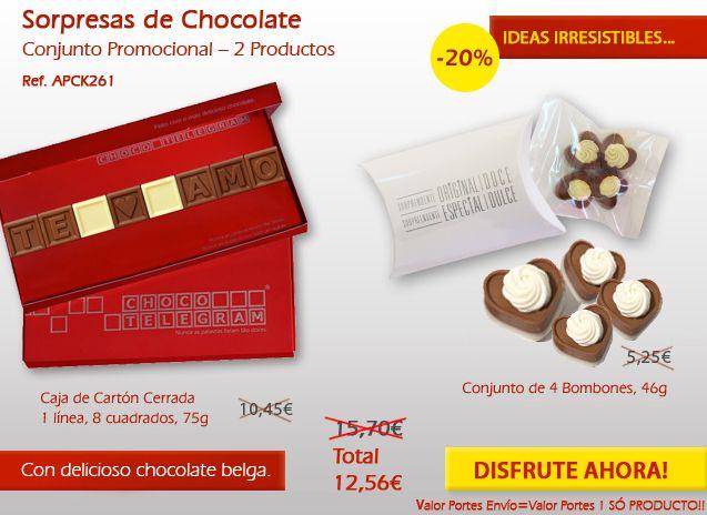 ¿Has visto nuestras promociones de septiembre? ¡Deliciosos chocolates!