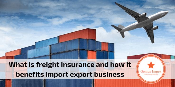 Freight insurance gives the benefits in import export