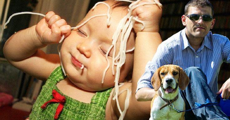 Un post dedicado a todos aquellos que adoran a los perritos pero que no se emocionan ni un poco cuando se trata de bebés humanos.
