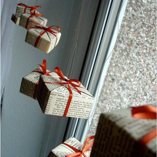 Origami Christmas Ornaments Tutorial