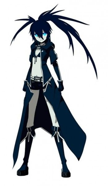 Black Rock Shooter -- Black Rock Shooter Cosplay Costume Version 04