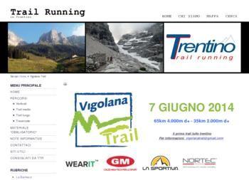 Vigolana Half marathon Trail- Detailed information
