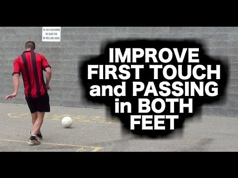 This training routine will improve your first touch, passing, and speed of play BUT only if you follow this important advice: https://www.youtube.com/watch?v=-56f31R-x44