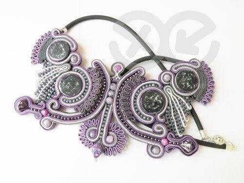 #Soutach, #Pendant, #Jewelry