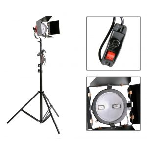 800w red head with stand