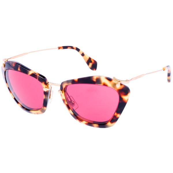 "Miu Miu's ""Noir"" 1940s-style tortoiseshell frames with cherry lenses.: Mui Mui Sunglasses, Miu Sunglasses, Sunglasses 390, Sunglasses Glasses, Miumiu Eyewearfashions, Miu Miu, Pink Sunglasses, Black Sunglasses, Colored Glass"