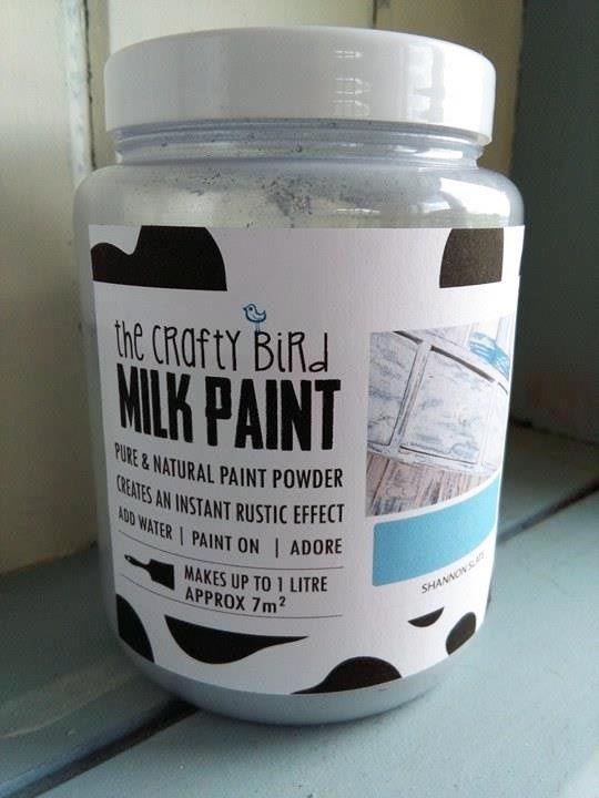 New Milk Paint packaging! www.milkpaint.ie