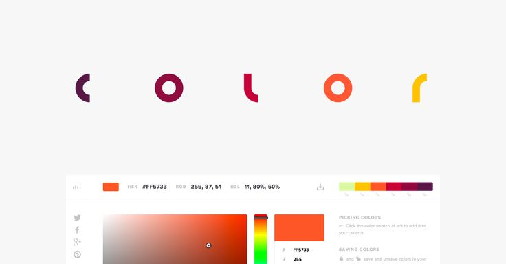 Nunca escoja el color equivocado una vez más. Utilice nuestra web seguros, diseño de  materiales y diseño plano gráfico en color para encontrar la perfecta combinación de  colores para su sitio web.