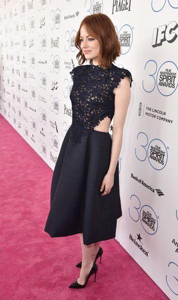 Emma Stone Photos: 2015 Film Independent Spirit Awards - Red Carpet