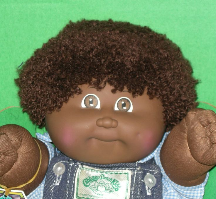 1983+Black+Cabbage+Patch+Kids+Boy+Doll+in+Box+by+HermionesCloset,+$65.00