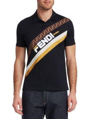 8c65c71d FENDI Fendi Mania Polo. #fendi #cloth | Fendi in 2019 | Fendi, Polo, Mens  tops
