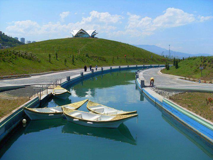 batı park kanal