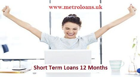 Short Term Loans for 12 Months on Flexible Repayments Metro Loans is offering short term loans for 12 months on flexible APRs as well as easy repayment terms. It is the UK based credit lending company, providing these loans with guaranteed approval and disbursal of cash within few minutes. There are no hidden charges to pay. To get more details, click: http://www.metroloans.uk/12-month-loans.html