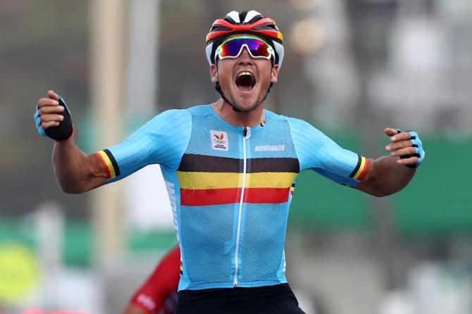 Greg Van Avermaet (Belgium) wins Olympic Gold in Rio