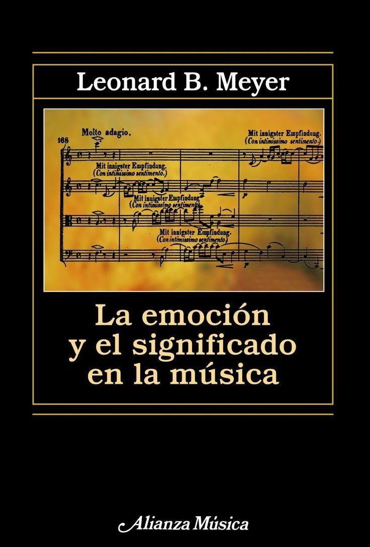 emocion y significado en la musica-leonard b. meyer-9788420671475