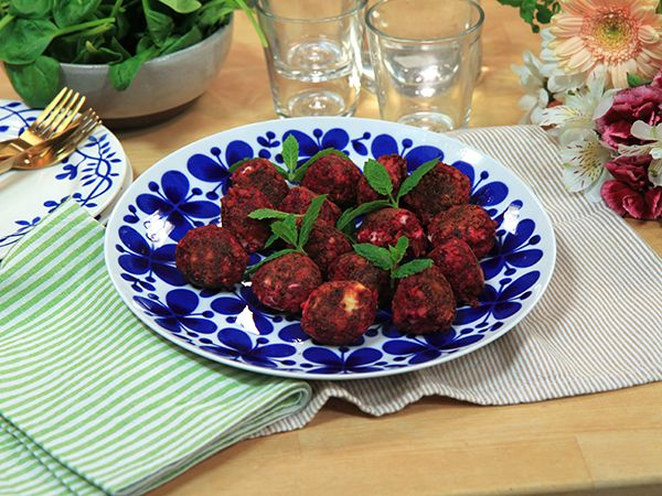 Meatless meatballs | Recept.nu