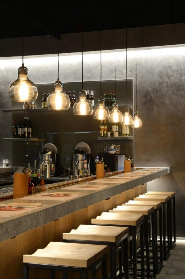 25+ best ideas about Sushi bar design on Pinterest | Island sushi ...