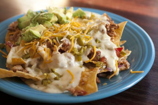 The Ultimate Nachos Recipe: Which Version Will Be At Your Super Bowl Party?  Baby Back Rib Nachos  Get the Baby Back Rib Nachos recipe from Macheesmo